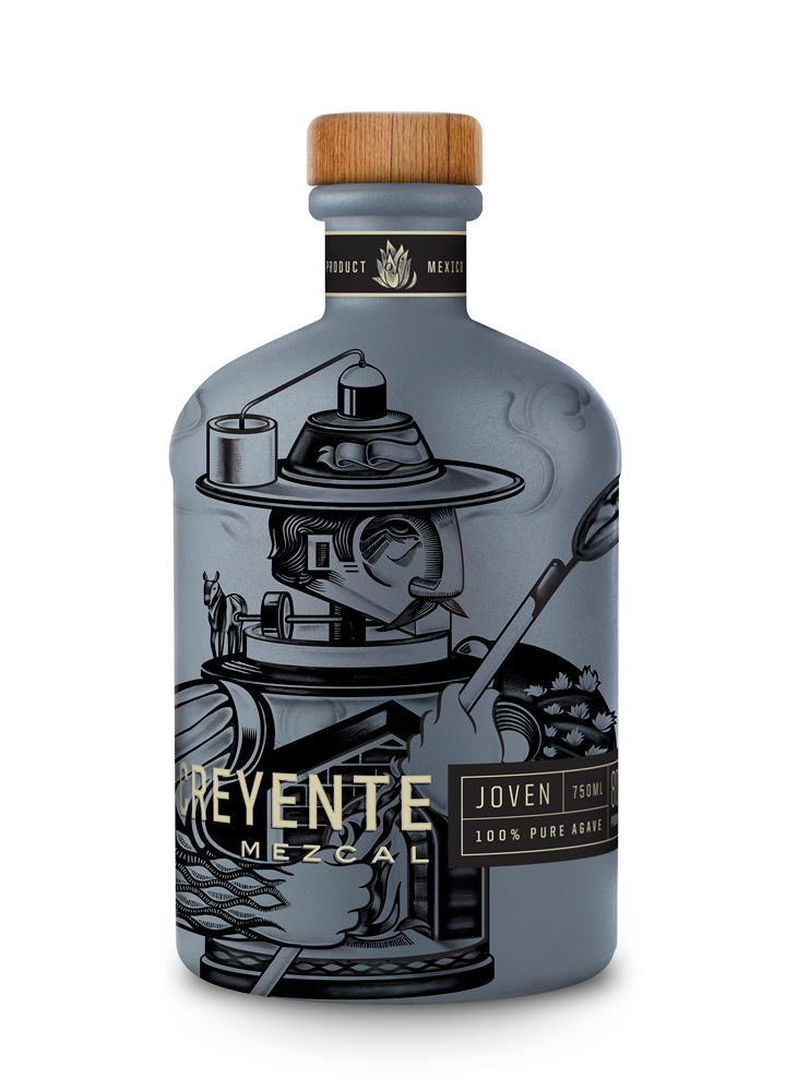 sophia sweeney creyente mescal packaging