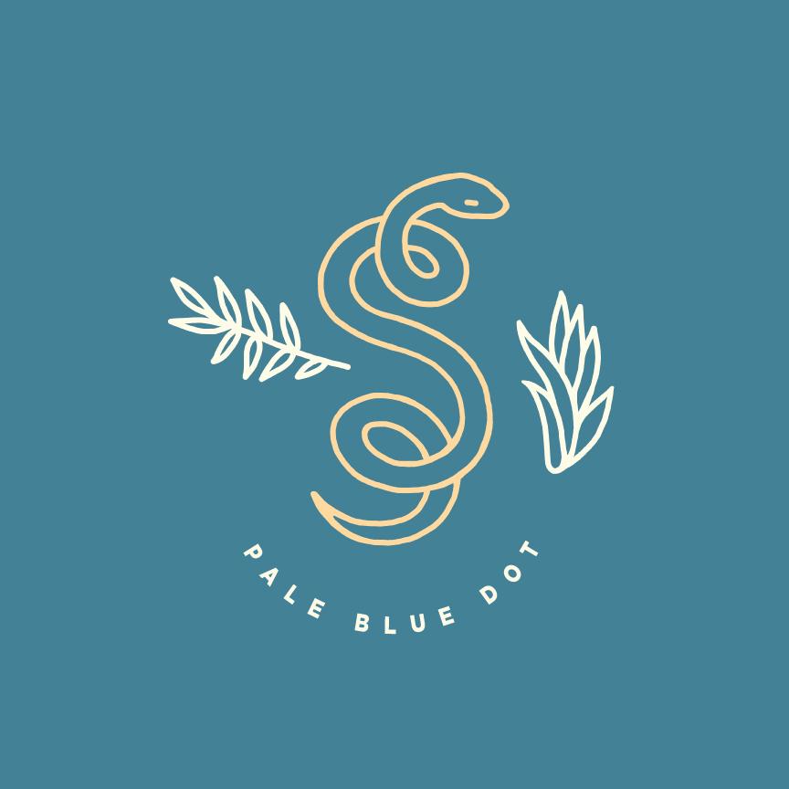 design sophia sweeney snake pale blue dot carl sagan